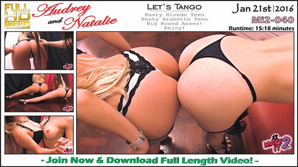 """Mi2-040 Audrey & Natalie """"Let's Tango"""""""