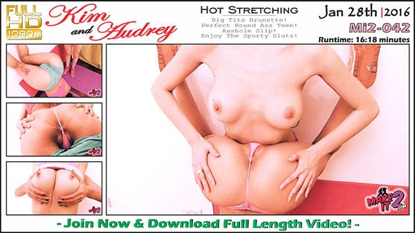 "Mi2-042 Kim & Audrey ""Hot Stretching"""