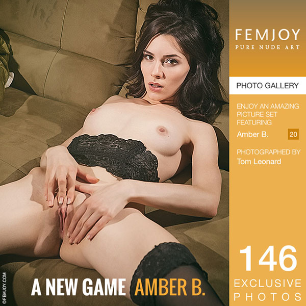 """Amber B in """"A New Game"""" by Tom Leonard"""