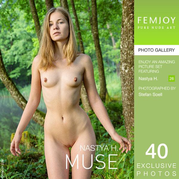 """Nastya H in """"Muse"""" by Stefan Soell"""