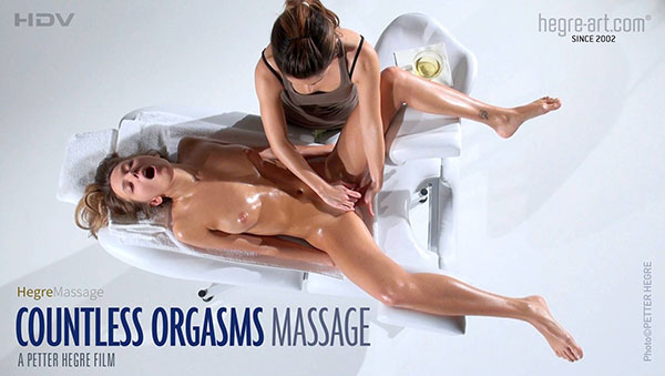 "Clover in ""Countless Orgasms Massage"" by Petter Hegre"