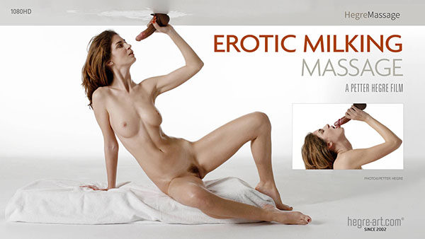 "Charlotta ""Erotic Milking Massage"" by Petter Hegre"