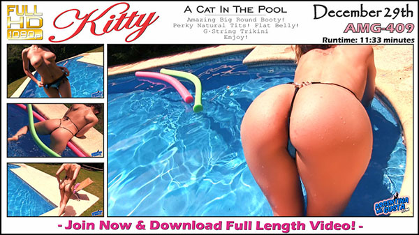 "AMG-409. Kitty ""A Cat In The Pool"""