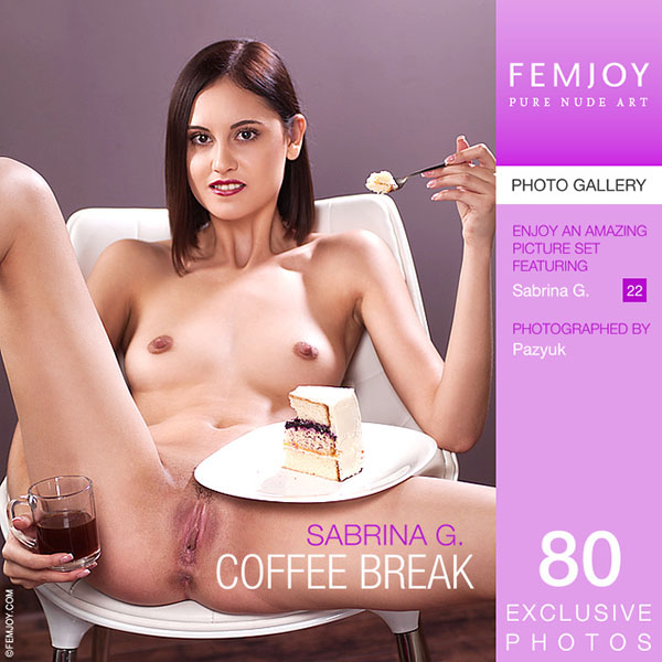 "Sabrina G in ""Coffee Break"" by Pazyuk"