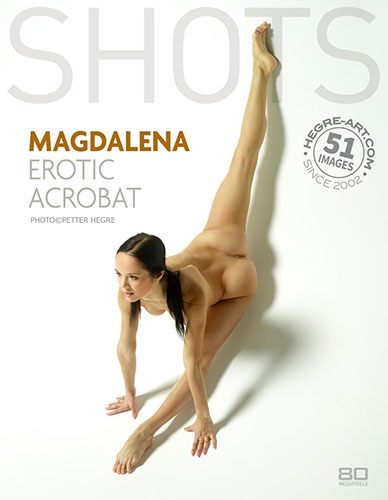 "Magdalena ""Erotic Acrobat"" by Petter Hegre"