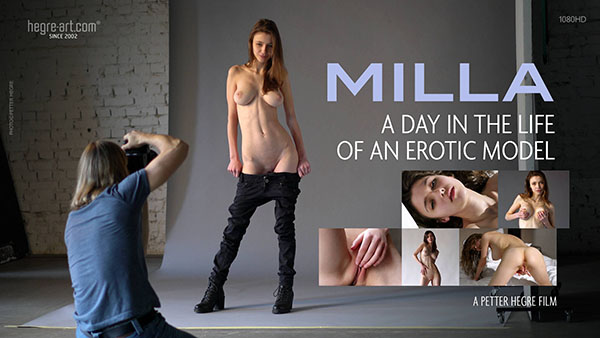 "Milla ""A Day In The Life Of An Erotic Model"""