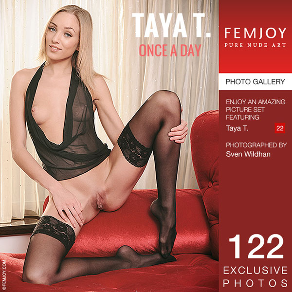 "1458969706_all-ero-1694 Taya T in ""Once A Day"" by Sven Wildhan"