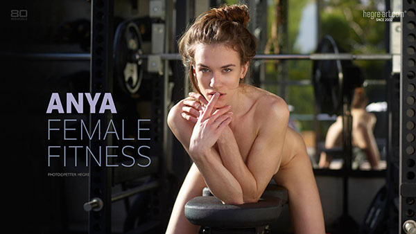 "Anya in ""Female Fitness"" by Petter Hegre"