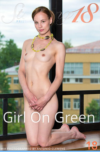 "Mia in ""Girl On Green"" by Antonio Clemens"