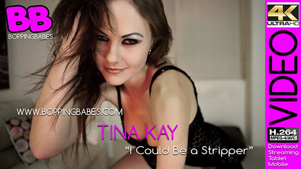 Tina Kay 揑 Could Be a Stripper? title=