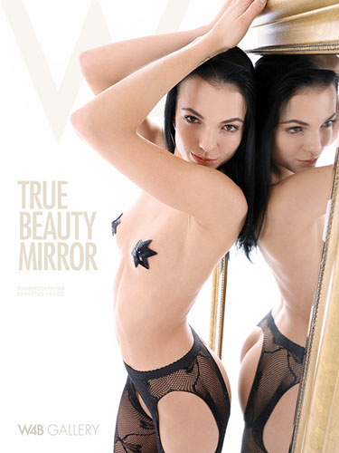 "Sapphira ""True Beauty Mirror"""
