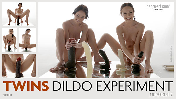 "Julietta & Magdalena in ""Twins Dildo Experiment"" by Petter Hegre"