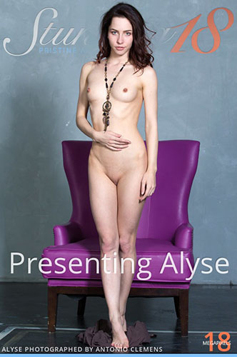 "Alyse in ""Presenting"" by Antonio Clemens"