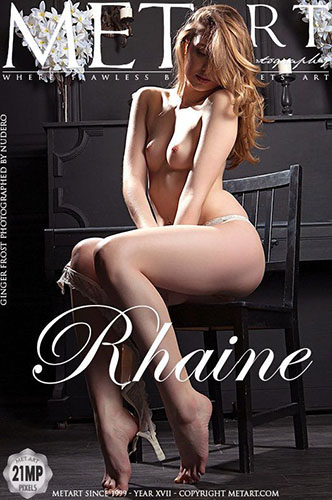 """Ginger Frost in """"Rhaine"""" by Nudero"""
