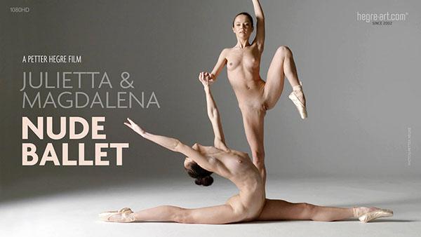 "Julietta & Magdalena ""Nude Ballet"""