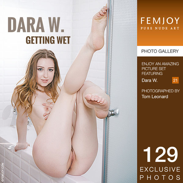 "Dara W in ""Getting Wet"" by Tom Leonard"