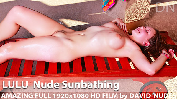 "Lulu ""Nude Sun Bathing"""