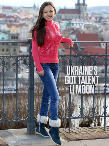 "Li Moon ""Ukraine's Got Talent"""