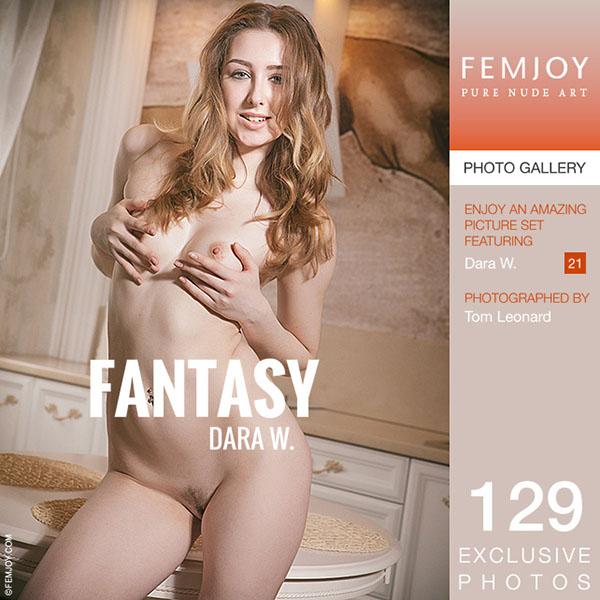 "Dara W in ""Fantasy"" by Tom Leonard"