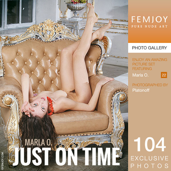 """Marla O """"Just On Time"""""""