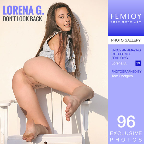 "Lorena G ""Don't Look Back"""
