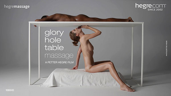 "Charlotta ""Glory Hole Table Massage"""