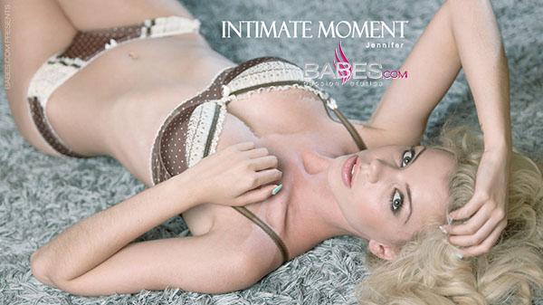 """Jennifer """"Intimate Moment"""""""