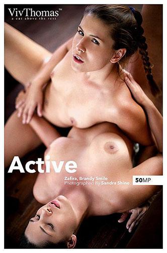 "Brandy Smile & Zafira A ""Active"""