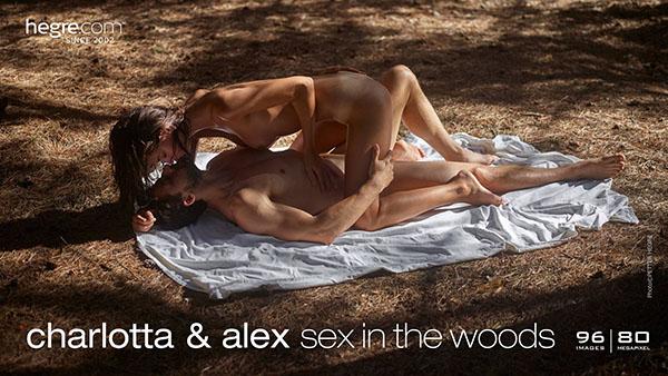 "Charlotta & Alex ""Sex in the Woods"""