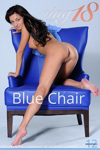 """Dolores M """"Blue Chair"""""""