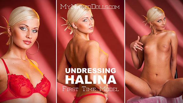 """Halina """"Undressing Halina"""""""