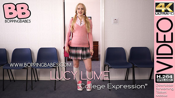 """Lucy Lume """"College Expression"""""""