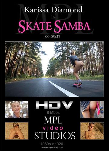 """Karissa Diamond """"Skate Samba"""""""