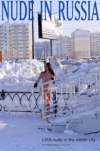 "Lisa ""Nude In The Winter City"""