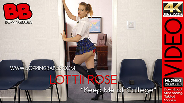 "Lottii Rose ""Keep Me at College"""