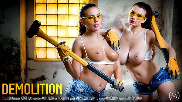 """Lucy Li & Vanessa Decker """"Demolition"""""""