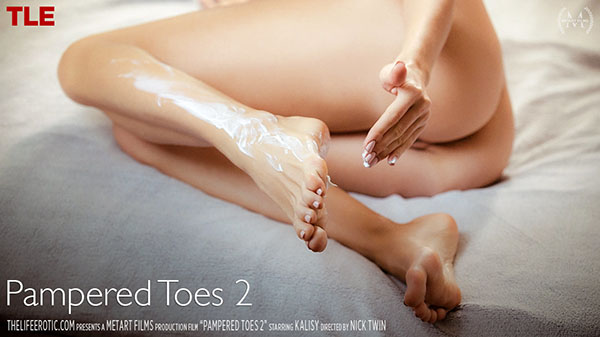 """Kalisy """"Pampered Toes 2"""""""