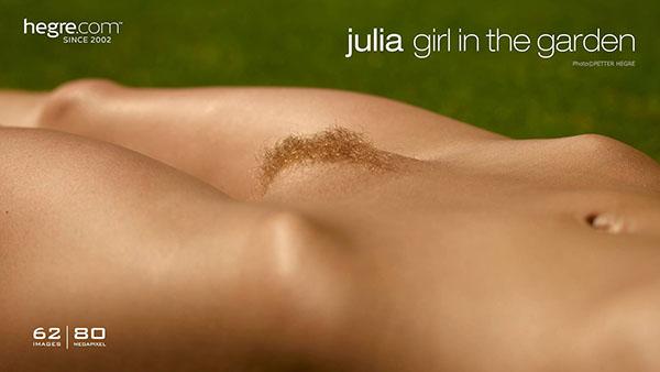 "Julia ""Girl In The Garden"""