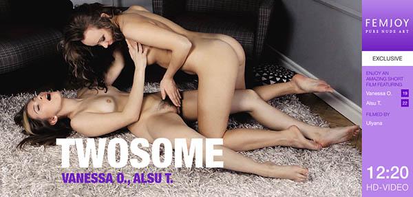 """Alsu T & Vanessa O """"Twosome"""""""