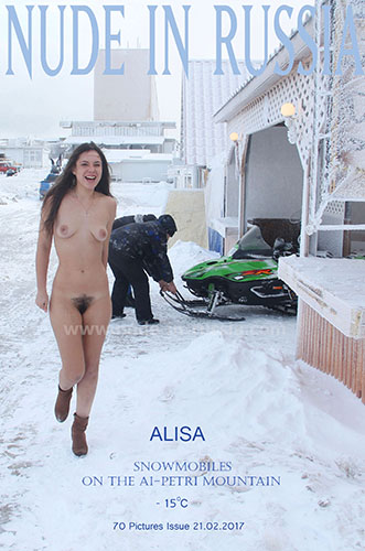 "Alisa ""Snowmobiles On Ai-Petri Mountain"""