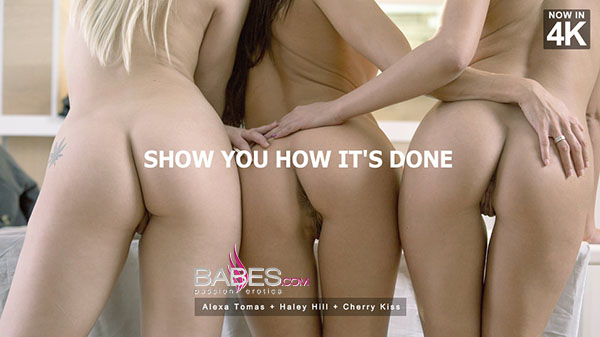 """Alexa Tomas, Haley Hill & Cherry Kiss """"Show You How It's Done"""""""