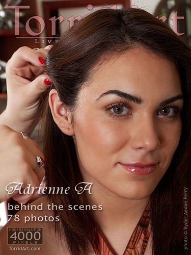 "Adrienne A ""Behind the Scenes"""