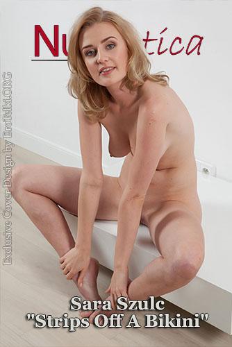 "Sara Szulc ""Strips Off A Bikini"""