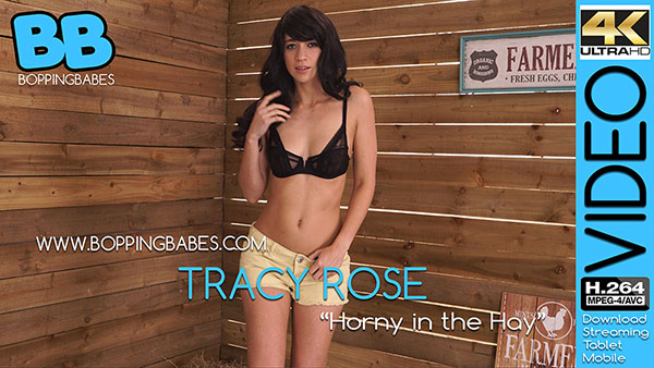 """Tracy Rose """"Horny in the Hay"""""""