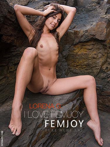 """Lorena G """"I Love Femjoy"""""""