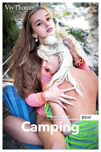 """Milena D & Nika N """"Camping"""""""