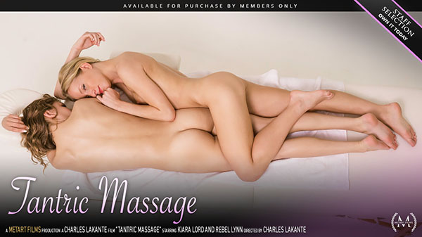 "Kiara Lord & Rebel Lynn ""Tantric Massage"""
