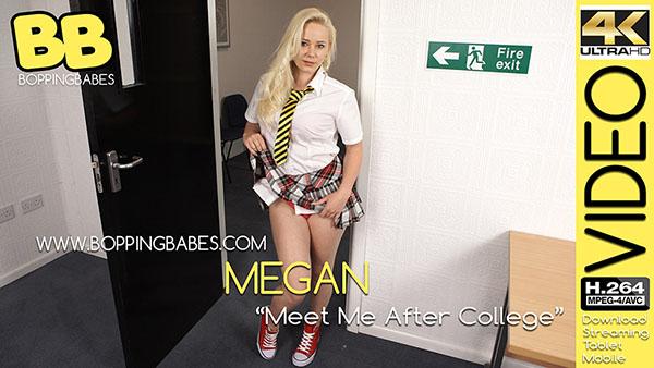 """Megan """"Meet Me After College"""""""