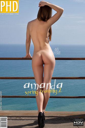 """Amanda """"Spring Training 2"""""""
