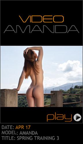"""Amanda """"Spring Training 3"""""""